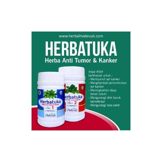 HERBATUKA Mabruuk 2 botol @Isi 60-obat-herbal-anti-tumor-anti-kanker