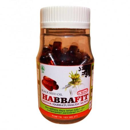 Minyak Habbatussauda Habbafit 100 Kapsul