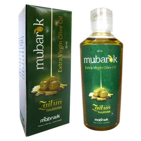 Minyak Zaitun Extra Virgin Tetes Mubarok 60ml