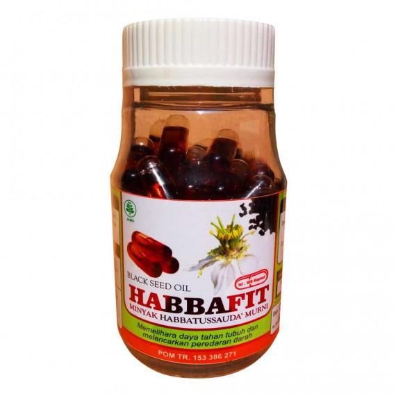Minyak Habbatussauda Jintan Hitam Kapsul Habbafit Isi 100