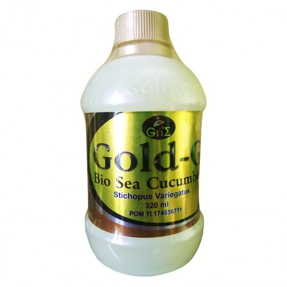 JELLY GAMAT BIO SEA CUCUMBER GOLD-G 320ml